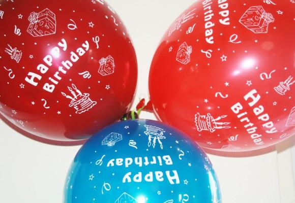 Verjaardagsfeestjes